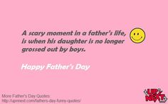 40 Funny Father's Day Quotes and Messages a from a daughter or son - Dedicate one quote to your dad and a put smile on his face. Happy Fathers Day Message, Funny Fathers Day Quotes, Fathers Day Messages, Message Quotes, Me Quotes, Funny Quotes, Father Daughter Quotes, Father Quotes, Full Quote