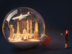 Christmas Magic by Kate Ignatenko