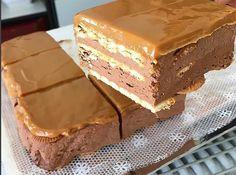 Arequipe e Chocolate – Melhor Chef Hungarian Recipes, Russian Recipes, Romanian Food, Ice Cream Recipes, No Bake Cake, Love Food, Sweet Recipes, Food To Make, Cupcake Cakes