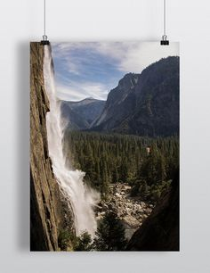 Yosemite National Park Wall Travel Poster