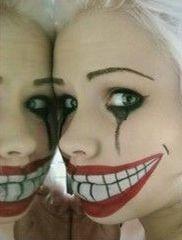 theres a creppy halloween clown costume - Chrispy Halloween