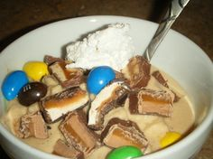 """Make a thick, LOW-FAT, LOW-SUGAR, delicious, """"Blizzard-like,"""" Halloween Protein Shake. No need to feel deprived. It is healthy! #Halloween #Recipes"""