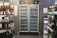 Archer's Bunker is a clandestine air raid shelter-style drinking den hidden in the basement of Spring Hill's International Hotel Brisbane Bars, Things To Do In Brisbane, Antique Wardrobe, Bar Interior, Spring Hill, Wine Fridge, Bar Drinks, Bunker, Archer