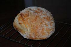 No Knead Artisan Bread {old school}