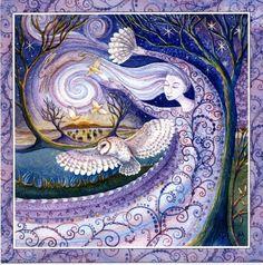 Goddess Festival Card - Winter Solstice