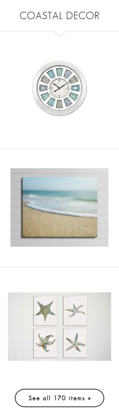 """COASTAL DECOR"" by arjanadesign ❤ liked on Polyvore featuring home, home decor, wall art, canvas home decor, brown wall art, sea wall art, coastal wall art, beach canvas wall art, autumn paintings and wall home decor"