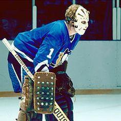 Gord Laxton - Pittsburgh Penguins University Of Pittsburgh, Pittsburgh Sports, Hockey Goalie, Ice Hockey, Pittsburgh Penguins Goalies, Goalie Mask, Masked Man, Face Art, Old School