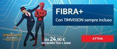 #offerta #TIM #fibra con prezzo bloccato 4 anni http://www.fissoapoco.it/tim-smart-fibra-2490e-per-4-anni/