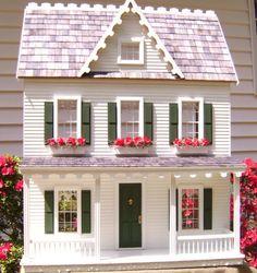 so quaint and pretty dollhouse
