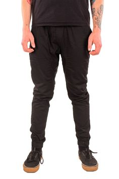 EP/_ Men/'s Twill Jogger Pants Hip Hop Harem Casual Trousers Slim Fit Elastic Chea