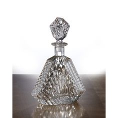 Fifth Avenue Crystal Wellington 20-oz Glass Crystal Whiskey Decanter - Overstock™ Shopping - Great Deals on Fifth Avenue Crystal Decanters & Carafes