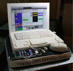 Nerd style cake