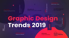 Graphic design trends 2019 will soon take over the web. What to expect? Bold vivid colors, maxi typography, alternative art & even more exciting trends. Design Floral, Art Journal Pages, Design Poster, Logo Design, Design Design, Branding, Studio Kids, Lettering, Typography