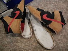 How To Reconstruct Nike Dunks....some impolite language sprinkled in this how-to, just an FYI.