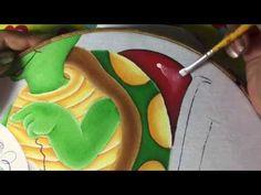 Pintura en tela tortuga # 5 con cony
