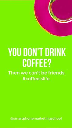 Coffee is life! Add this to your lock screen by tapping and saving to your camera roll!