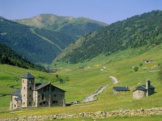 Andorra -- Sandwiched in the Pyrenees between France and Spain, Andorra is ruggedly beautiful.  Photograph by Rolf Richardson/Getty Images (nationalgeographic.com)