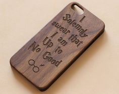 Wood iphone 6s caseHarry Potter iPhone 6S case wood by baby5studio