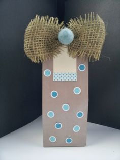 A Spoonful of Crafts: Hurtig gavepose / Quick Gift Bag