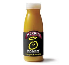 My favorite April Fools.  Mangoes and Marmite  smoothy :)