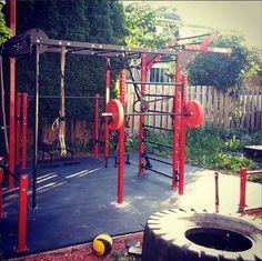 Super Home Gym Machine Gears Ideas Home Gym Garage, Gym Room At Home, Basement Gym, Outdoor Gym, Outdoor Workouts, Gym Workouts, Outdoor Fitness, Parkour Gym, Calisthenics Gym