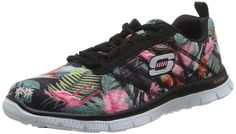 [UK & Ireland] Shoes: Skechers Flex Appeal - Floral Bloom, Women's Fitness  Shoes Buy New: - (On sale from
