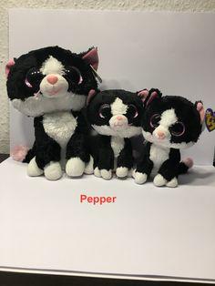 Beanie Boos, Beanie Babies, Big Eyed Animals, Cute Animals, Stuffed Toys, Plushies, Alice, Teddy Bear, Stuff Stuff