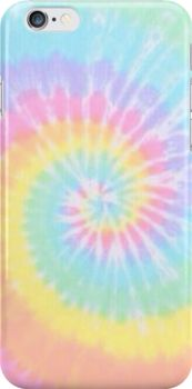 Tie-dye phone case-redbubble