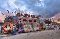 Mardi Gras Fun House at the Houston Livestock and Show Rodeo Carnival
