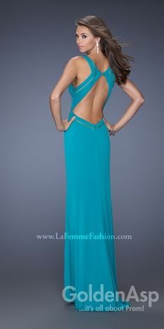 Shop La Femme evening gowns and prom dresses at Simply Dresses. Designer prom gowns, celebrity dresses, graduation and homecoming party dresses. Open Back Prom Dresses, V Neck Prom Dresses, Dance Dresses, Evening Dresses, Prom Gowns, Formal Dresses, Celebrity Prom Dresses, Military Ball Gowns, Dresser