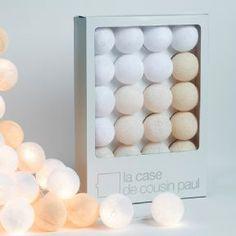 Ball Lights - La Case de Cousin Paul String of Lights | Petit Home