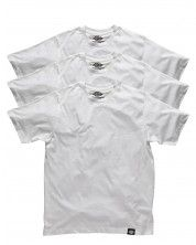 Dickies 3-pack Single-color T-shirts - White