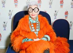 Meet Iris Apfel: nonagenarian style icon, documentary subject and one of J.Crew's (and Jenna's) absolute favorite human beings.