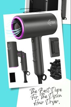 Find the best dupe for the Dyson hair dryer on SheFinds.com. All Things Beauty, Good Things, Ionic Hair Dryer, Shower Tips, Home Spa Treatments, Beauty Advice, Drugstore Makeup, Free Hair, Dupes