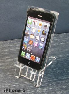 iPhone 5 or iPhone 4 Phone Stand Docking Station  by PhoneTastique, $24.00