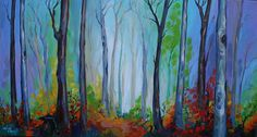 Marlise le Roux, colourful landscape artist from South Africa paints vivid original artworks of landscapes, forests & flowers. She is also the proud owner of Saxonwold Events Art Gallery that hosts regular art exhibitions. Forest Flowers, Flower Art, Original Artwork, Art Gallery, Landscape, Artist, Painting, Color, Art Floral