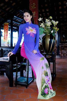 Phạm Hương đẹp nao lòng khi diện áo dài Việt - 7