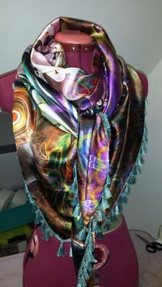 Satijnen sjaal