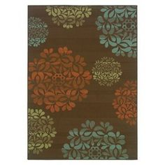 Starburst Indoor/Outdoor Area Rug - Brown : Target Mobile