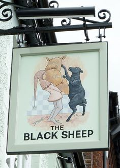 Black Sheep, Petersfield | Flickr: Intercambio de fotos sign