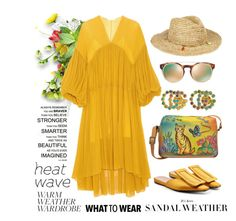 How to Dress for a Heat Wave by igiulia on Polyvore featuring Chloé, Marni, Anuschka, Gucci, Accessorize, Valentino and heatwave