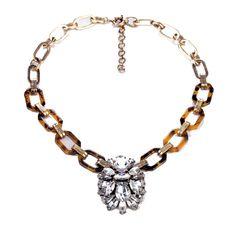 Collar NACAR Y CRISTAL MRS.CARLAND NACAR Y CRISTAL necklace MRS.CARLAND www.mrscarland.com