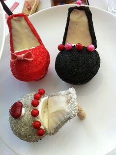 Nine More High Heel Cupcakes