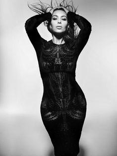 Kim Kardashian Photoshoot for V Magazine Fall 2012 (