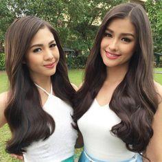 Liza Soberano with Janella Salvador! Both cute!