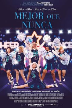 Watch Poms : Online Movie A Woman Moves Into A Retirement Community And Starts A Cheerleading Squad With Her Fellow Residents. Diane Keaton, Pikachu, Party Service, Poster S, Rap, Cinema, Streaming Vf, Dreams, Queens