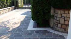 Casa privata in porfido e fascia Botticino - Pavimenti per esterni in pietra naturale | Appia Antica Srl