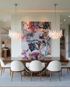 You have to see this wonderful dining room with luxury furniture for .:separator:You have to see this wonderful dining room with luxury furniture for . Dining Room Wall Decor, Dining Room Furniture, Dining Rooms, Dining Chairs, Dining Room Decor Elegant, Dining Sets, Decor Room, Art Decor, Bedroom Decor