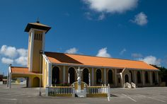 Church of Janwé in Janwé district of Willemstad, Curaçao (via Flickr)