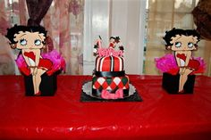 betty boop centerpieces by KENIACASTANEDA on Etsy, $16.00